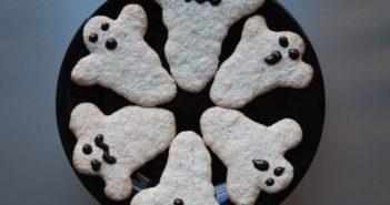 Halloween Geister Kekse