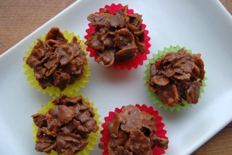 rezept cornflakes kekse selber machen die frische k che. Black Bedroom Furniture Sets. Home Design Ideas