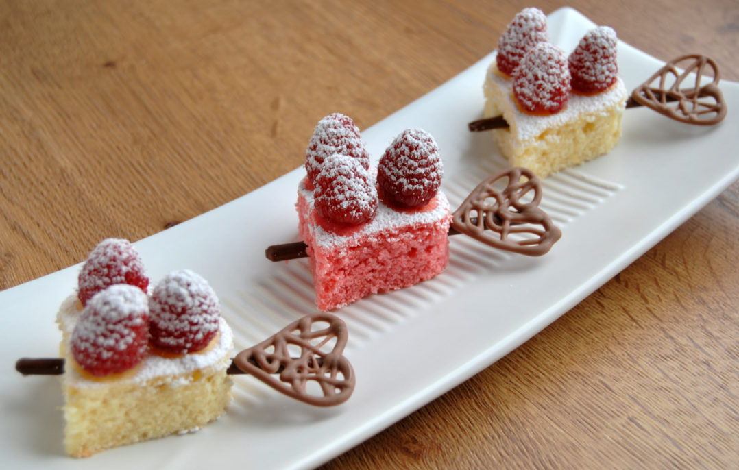 Mini Herz Kuchen Rezept Fur Valentinstag Muttertag Die Frische Kuche